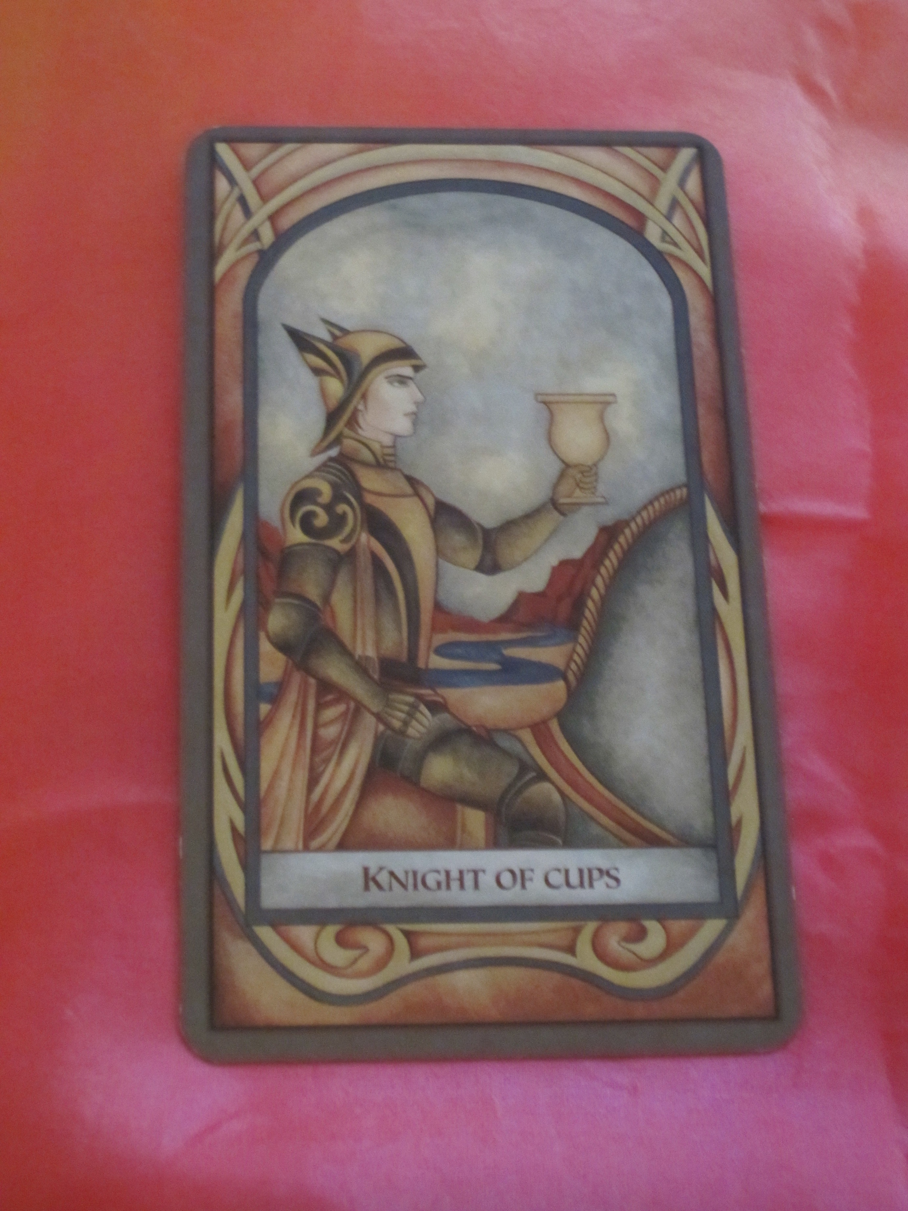 Daily Tarot Reading for Tuesday ~ Knight of Cups | Daily