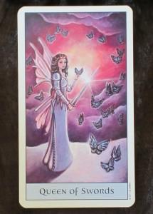 crystal visions tarot queen of swords