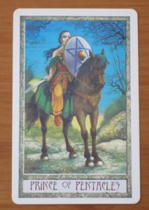 druidcraft tarot prince of pentacles