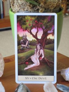 crystal visions tarot the devil