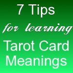 learning tarot card meanings