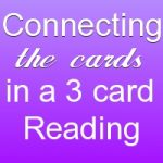 connecting the tarot cards