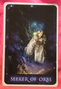 Seeker Of Orbs Tarot Card For Tuesday Daily Tarot Girl