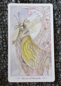 seven of swords paulina tarot