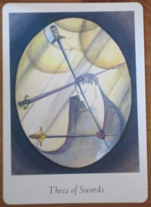 3 of swords tarot card
