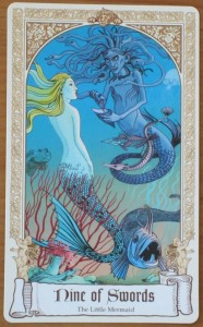9 of swords fairytale tarot