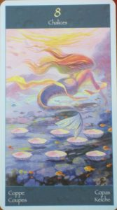 8 cups tarot card
