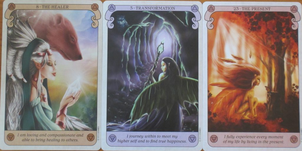 conscious sprit oracle cards